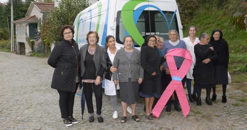 Celorico de Basto: Unidade Móvel de Saúde alerta para efeitos do cancro da mama