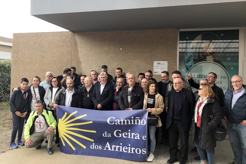 Caldelas inaugurou albergue do Caminho Geira e Arrieiros