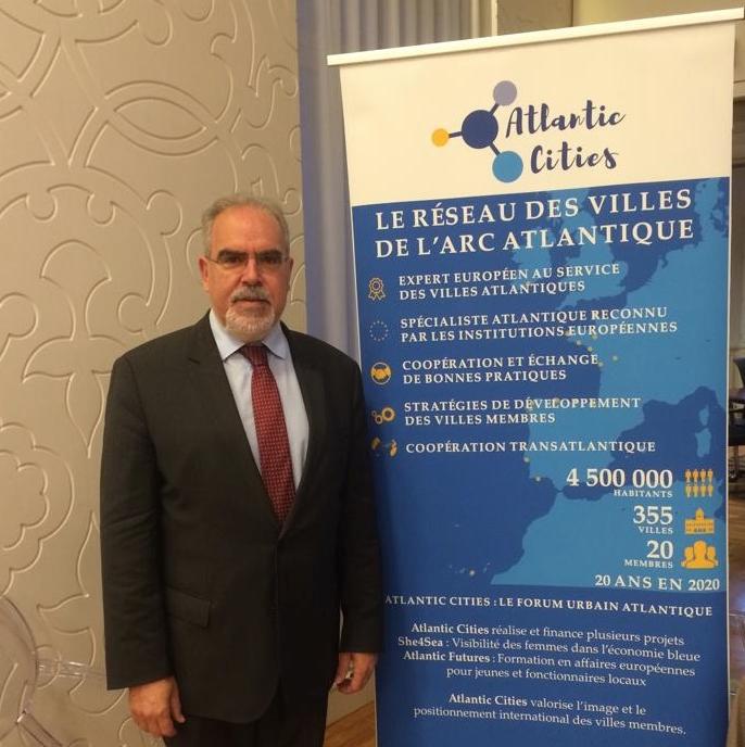 Autarca de Viana do Castelo pede priorização do Corredor Atlântico na assembleia geral das Cidades do Atlântico