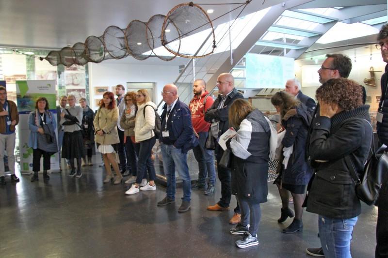 Parceiros europeus do 'CHERISH' visitam Aquamuseu do rio Minho para conhecer boa prática
