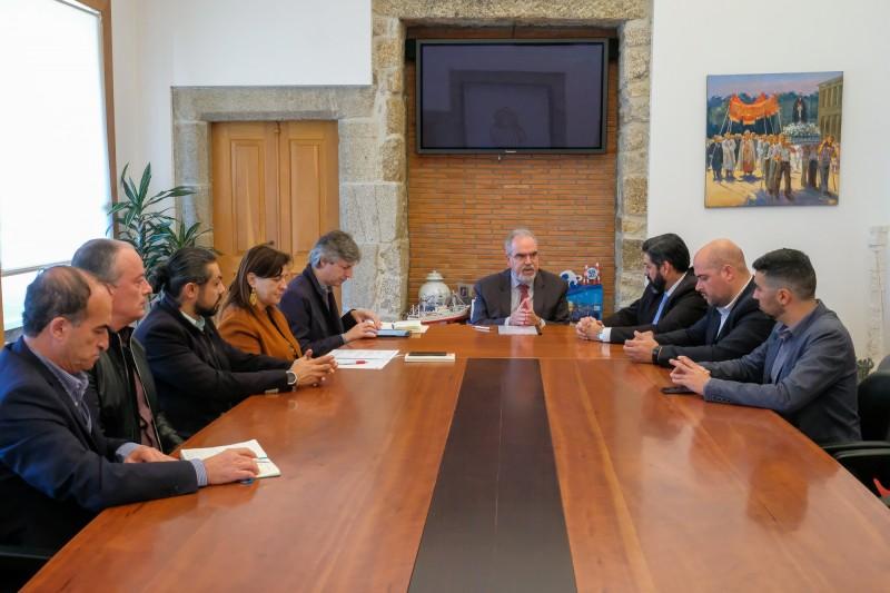 Executivo recebeu a nova direção eleita da Associação Empresarial de Viana do Castelo