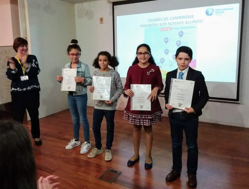 International House: alunos com 99% de sucesso