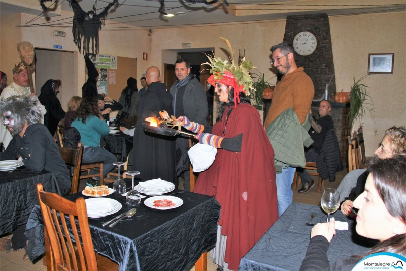 Vilar de Perdizes celebrou o Halloween