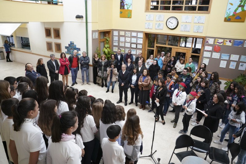 Escola Virgínia Moura assinalou esta quinta-feira o 25.º aniversári
