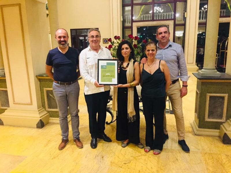 Guimarães Marca distinguido com prémio publicidade gráfica na Feira Internacional de Havana