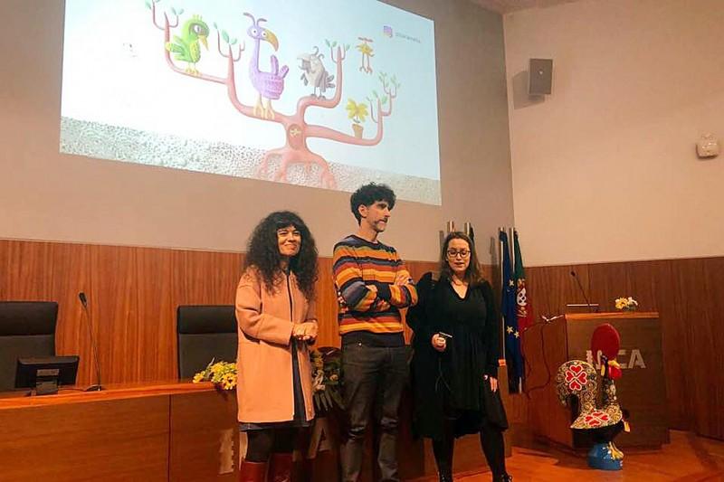 Cineasta argentino dá aula aberta de cinema de animação no IPCA