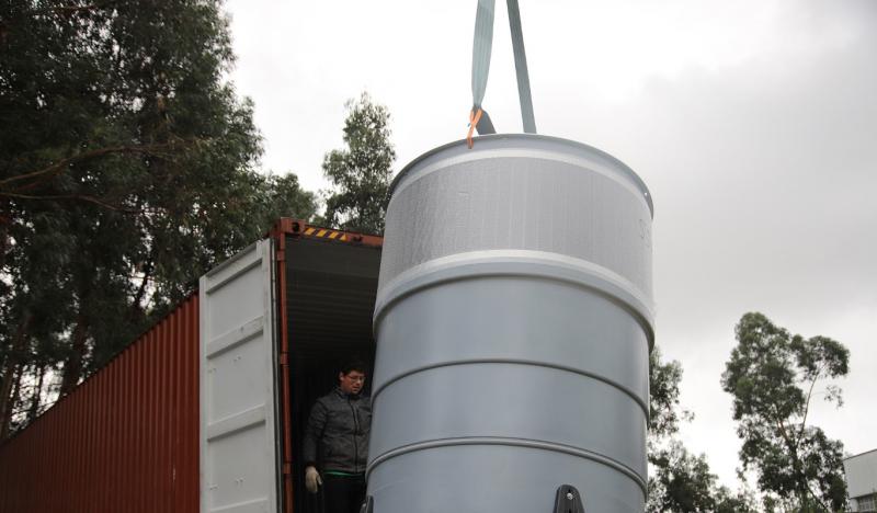 Vizela: Chegaram primeiros contentores semienterrados