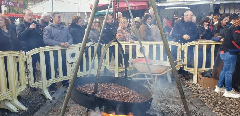 Mercado da Castanha e dos Produtos Locais animou Vieira durante três dias
