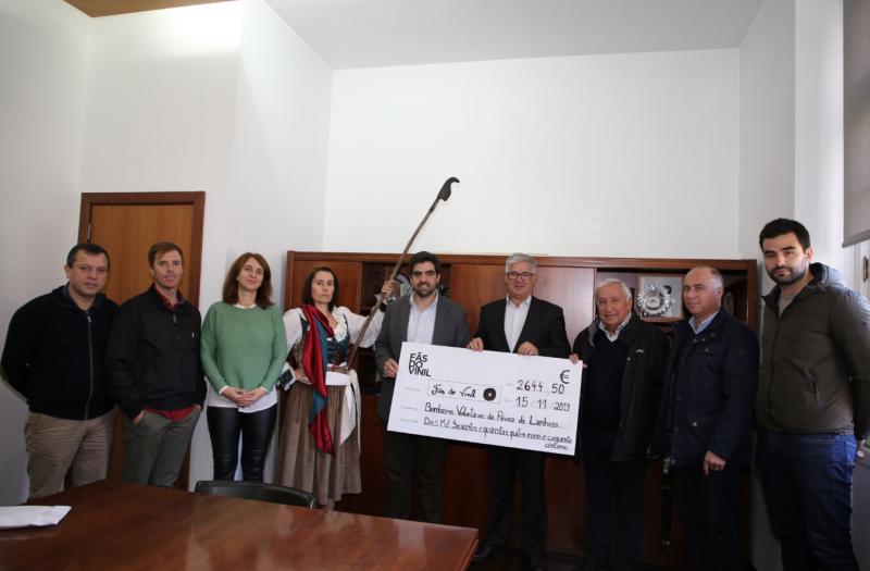 Fãs do Vinil entregaram apoio aos Bombeiros da Póvoa de Lanhoso