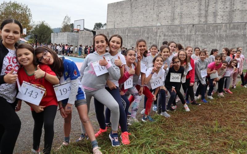 Corta-mato escolar animou Escolas Braga-Oeste