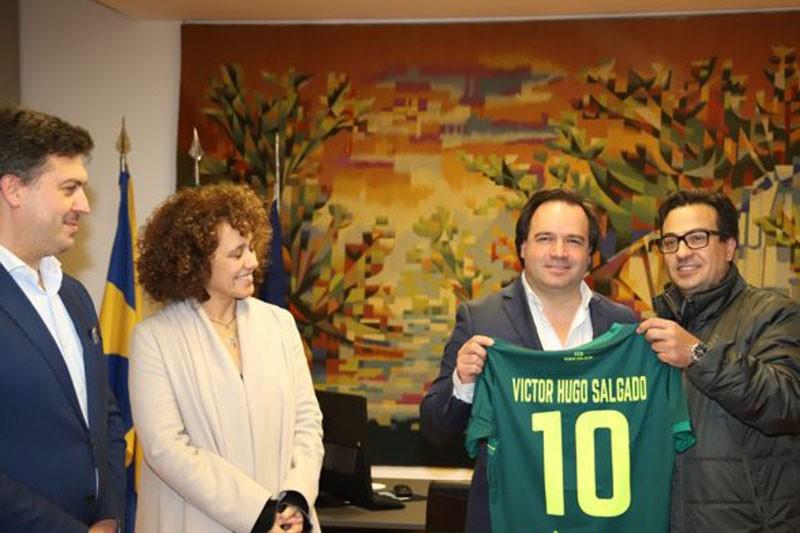 CCD Santa Eulália homenageou presidente da Câmara de Vizela