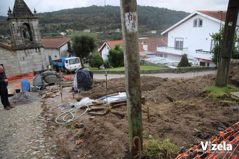 Autarca vizelense visita obras nas freguesias