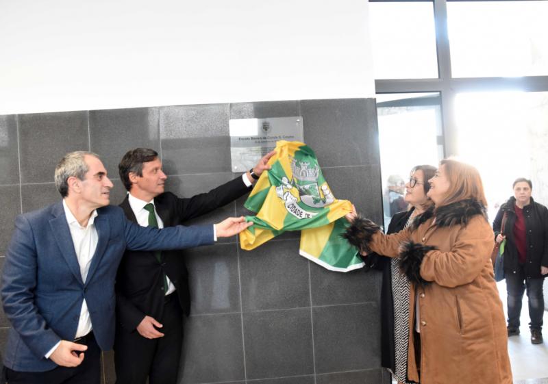 Escola Conde S. Cosme, em Famalicão, pronta para mais um século