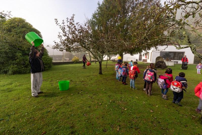 Quatrocentos crianças de Cerveira e Tomiño visitaram quinta pedagógica