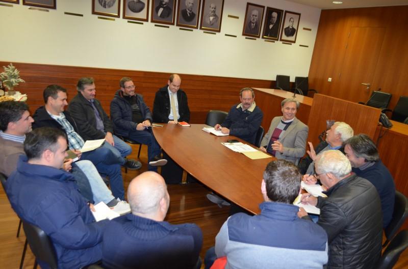 Executivo reuniu com Presidentes de Junta