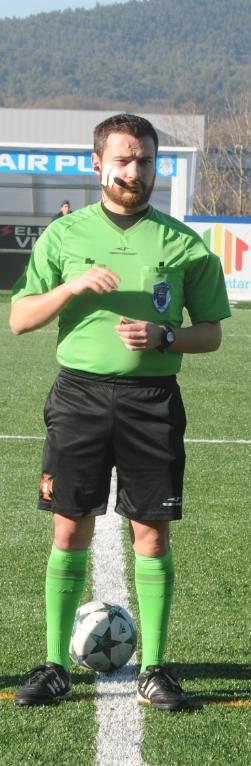 Ricardo Martins arbitra Forjães-Porto d'Ave
