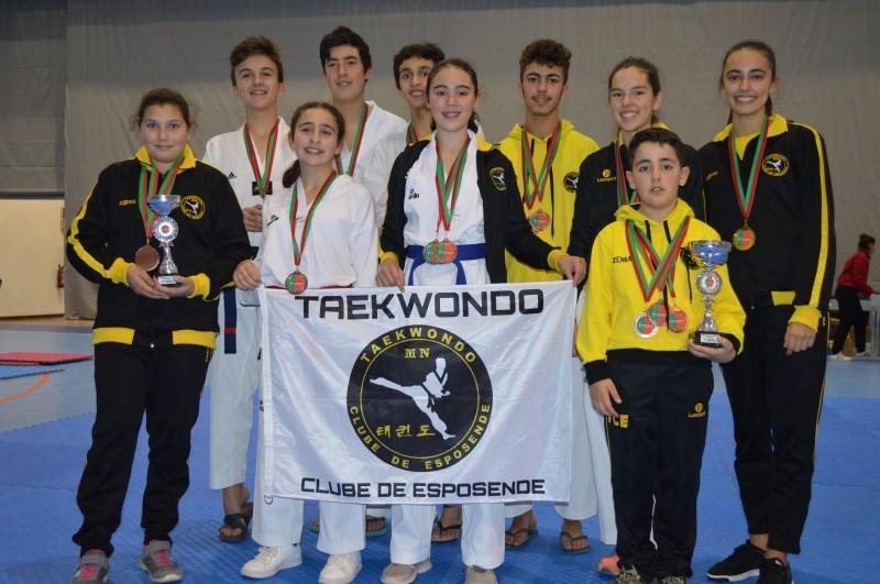 Taekwondo Clube de Esposende campeão nacional