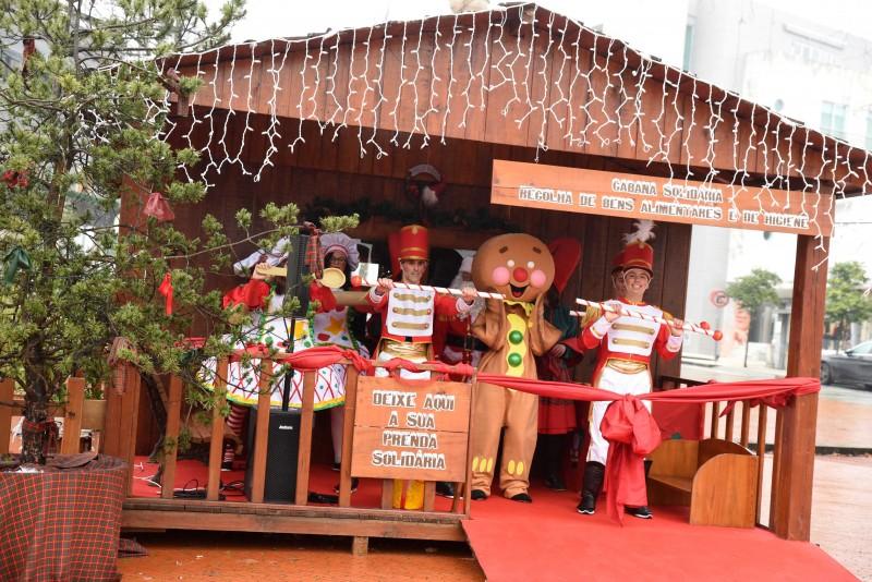 Famalicão: Pai Natal recebe prendas para distribuir pelos mais carenciados