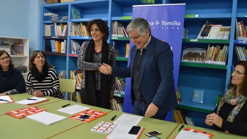 'Provedoras da cidadania transfronteiriça' dão distinção à eurocidade Cerveira-Tomiño