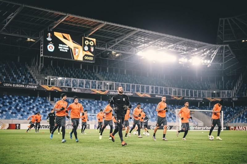 SC Braga quer fazer história em Bratislava