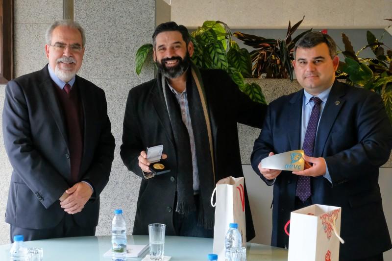 Câmara do Comércio de Cyclades em Viana do Castelo para analisar possibilidade de cooperação entre as duas regiões