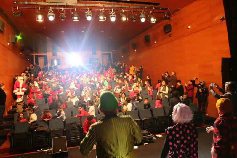 Festas de Natal das crianças na  Casa das Artes de Arcos de Valdevez