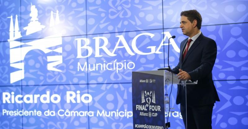 Braga recebe com entusiasmo a Final Four da Taça da Liga