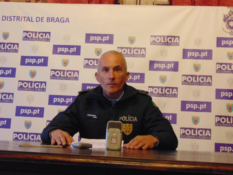 PSP deteve  suspeito de 12 roubos