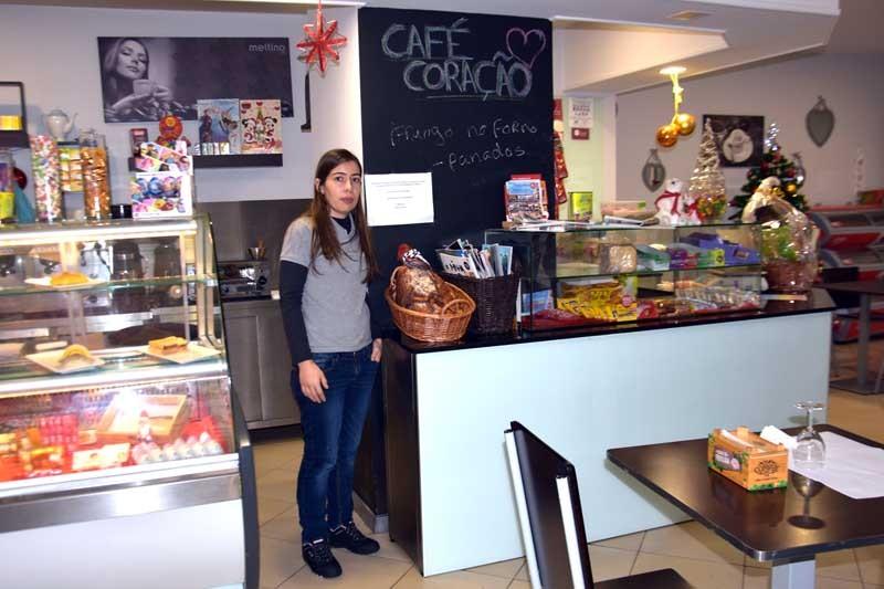 'Café Coração' cativa clientes com pratos apetecíveis e a baixo custo