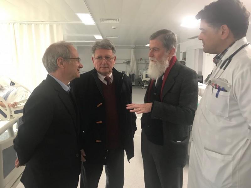 Presidente da Câmara de Guimarães visitou Nova Unidade de AVC/Unidade Intermédia de Medicina do Hospital Senhora da Oliveira