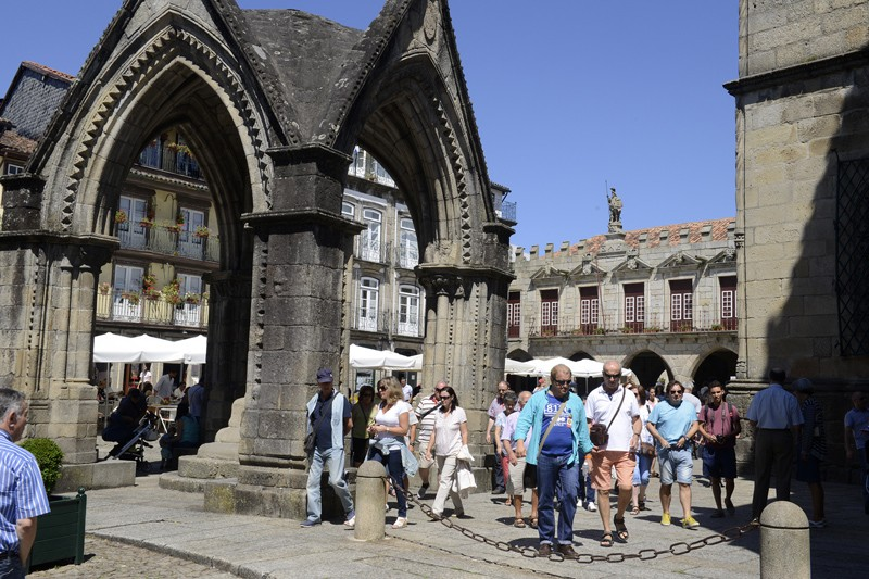 Guimarães registou mais 32 por cento de turistas