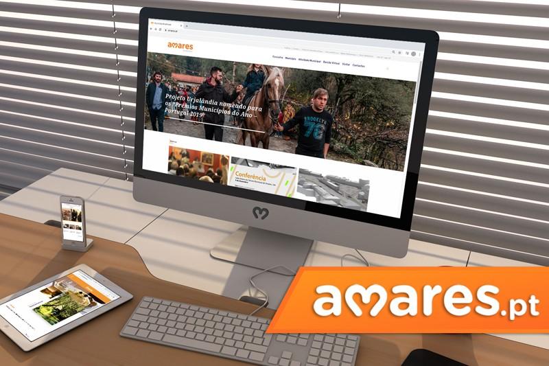 Novo site de Amares potencia oferta turística