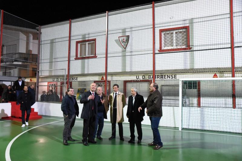 União Desportiva Bairrense recebe prenda desejada no seu 43.ª aniversário