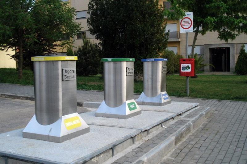 Braval recolheu 17.540 toneladas de resíduos recicláveis nos ecopontos