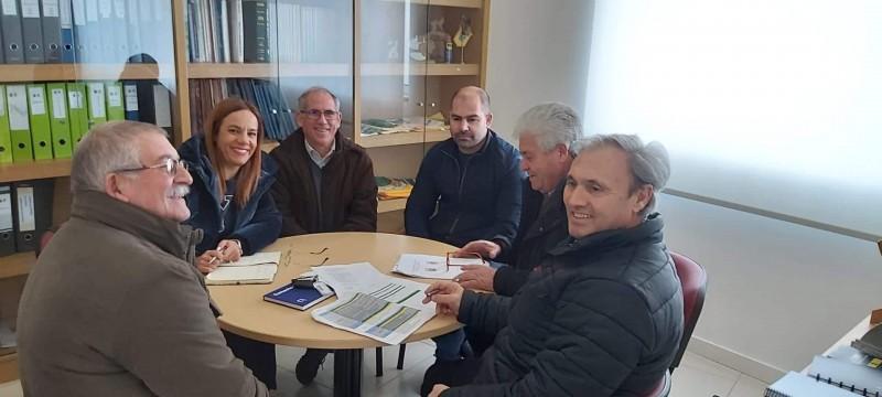 Executivo Vieirense visitou União de Freguesias de Ruivães e Campos