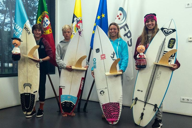 Carolina, Ana, Kekoa e Ricardo vencem Circuito Regional de Surf do Norte