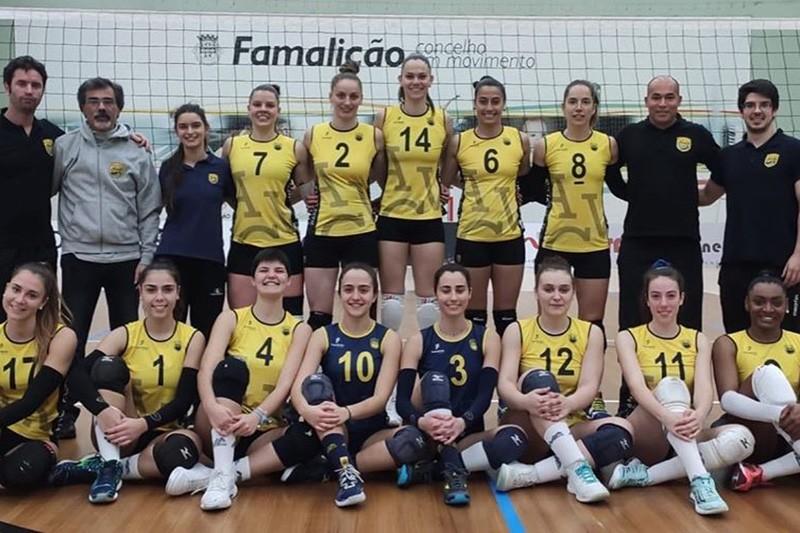 AVC Famalicão Vólei supera Sporting e entra na Final Four