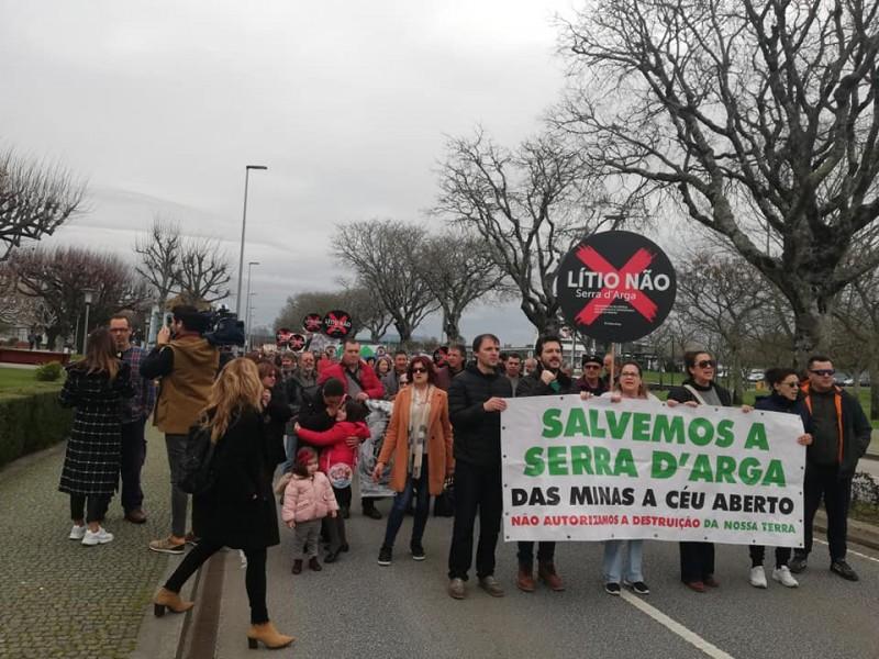"""Viana do Castelo lança """"clamor social"""" contra prospecção de lítio"""