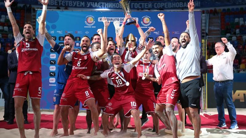 SC Braga é bicampeão mundial