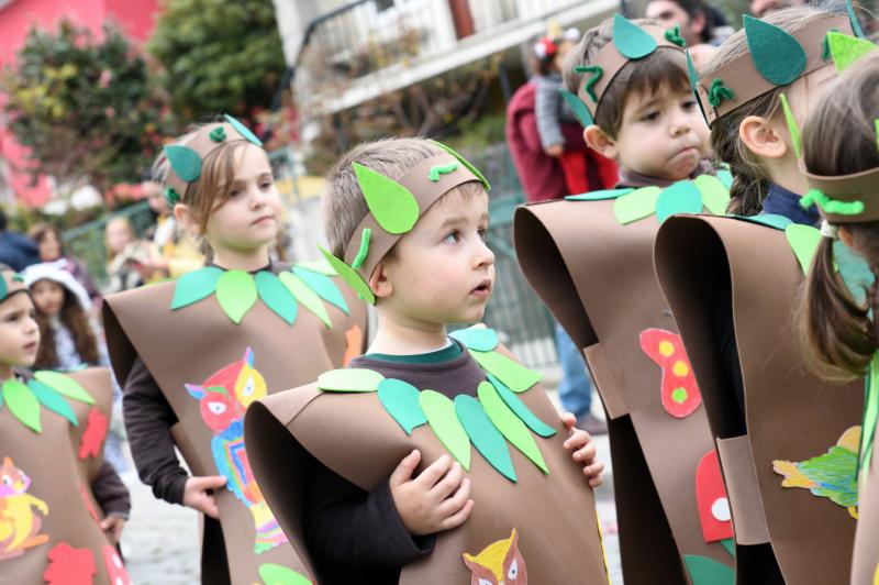 Desfile infantil dá o pontapé de saída para a folia do Carnaval em Famalicão