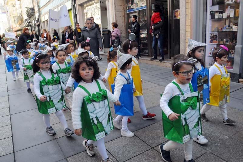 Desfile de Carnaval da Creche de Braga foi um apelo ambiental