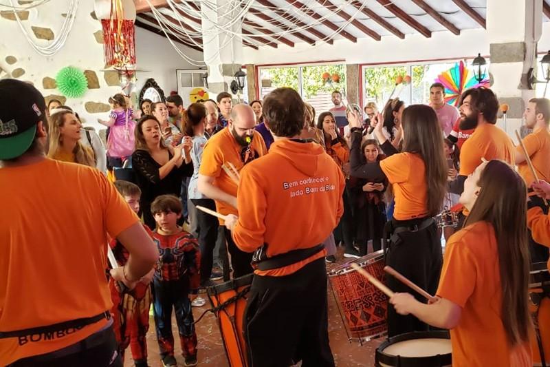 Carnaval 'Minho de Janeiro 'invade' Jardim dos Chorões para 'festa rija'
