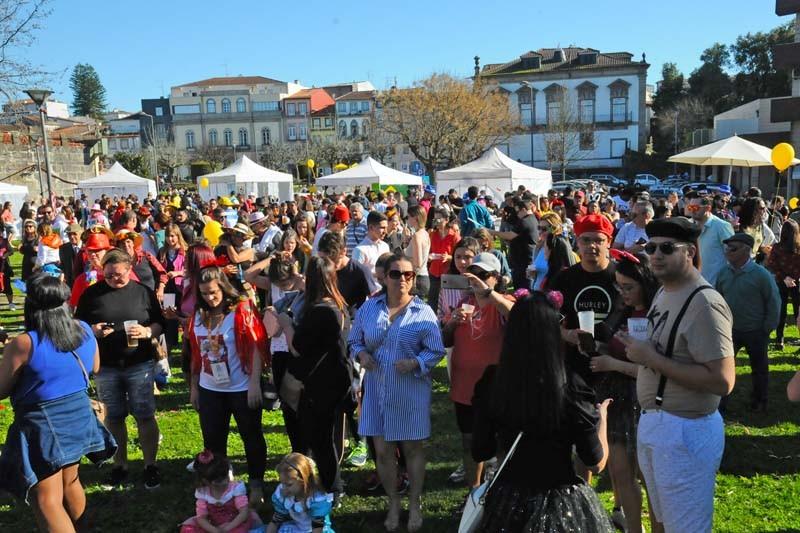 Braga recebeu de braços abertos Carnaval brasileiro