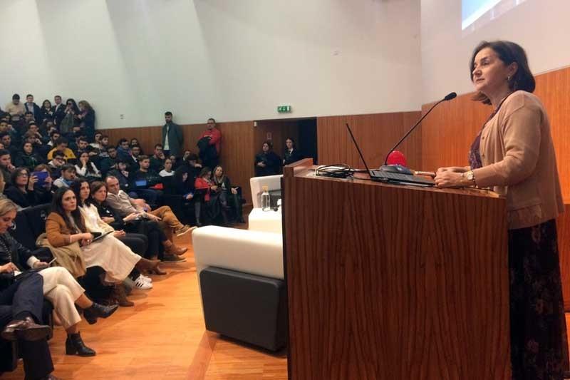 Maria José Fernandes é a única mulher a presidir a um instituto politécnico no país
