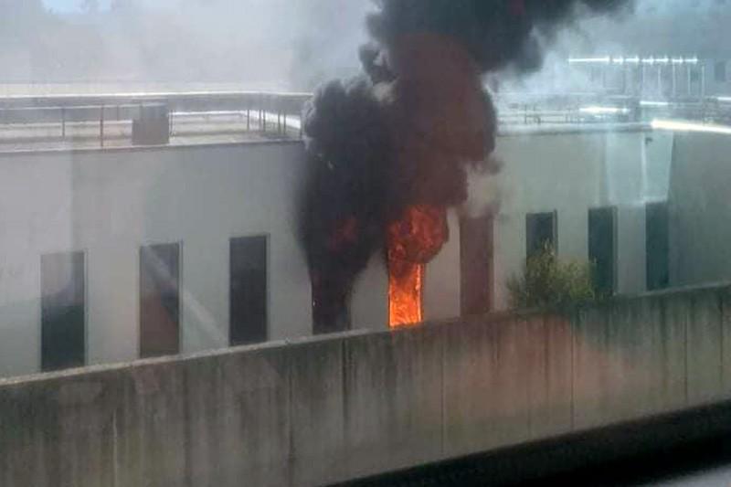 Fogo na ala Psiquiátrica do Hospital de Braga causou um ferido grave e outro ligeir