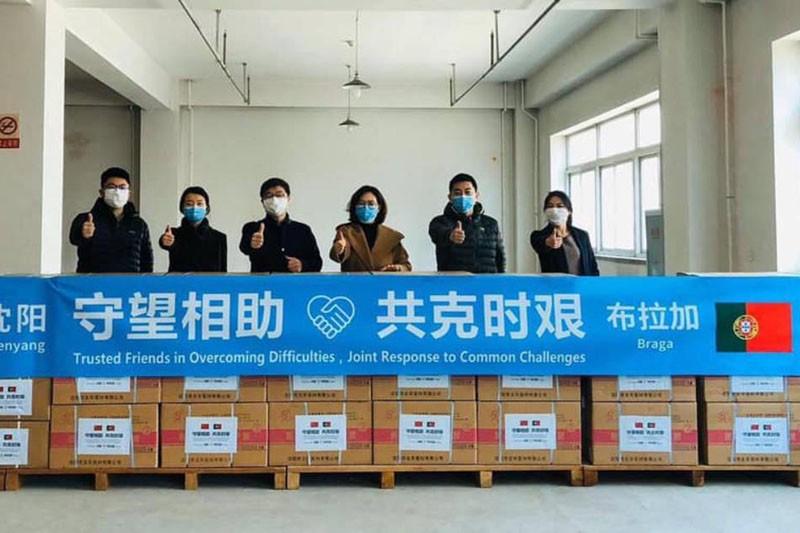 Material doado a Braga pela cidade de Shenyang chega na próxima semana