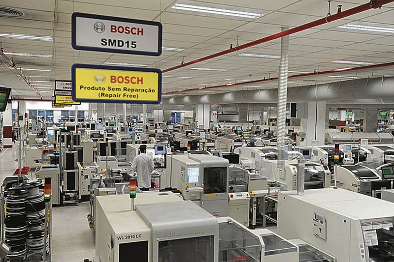 Bosch pára produção por duas semanas