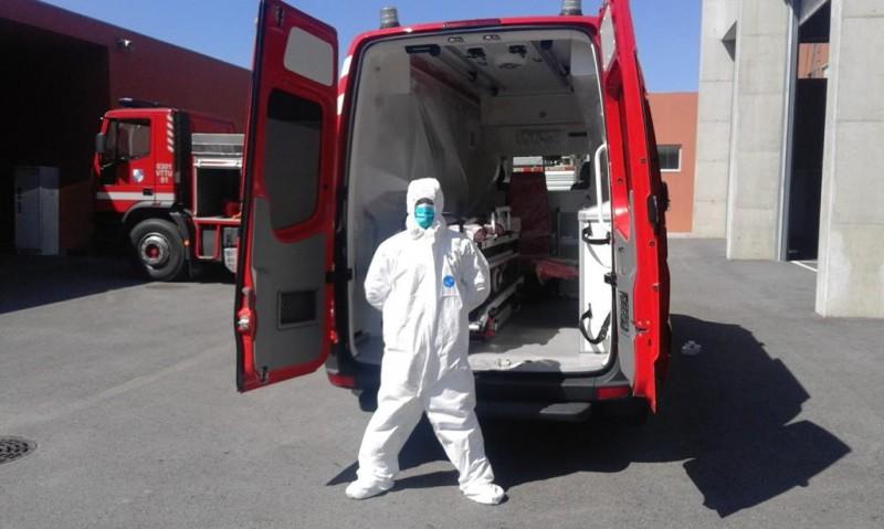 Município entrega material de protecção aos Bombeiros Sapadores