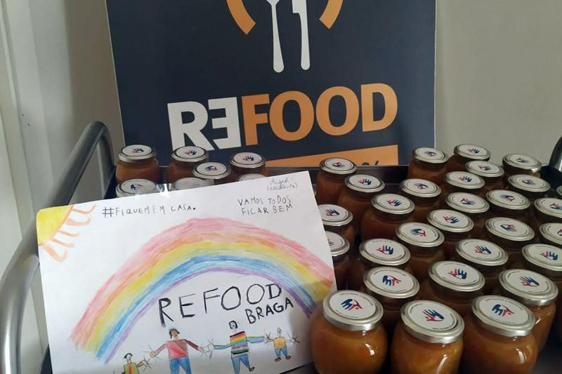 Refood entrega hoje cabazes a mais  de uma centena de beneficiários
