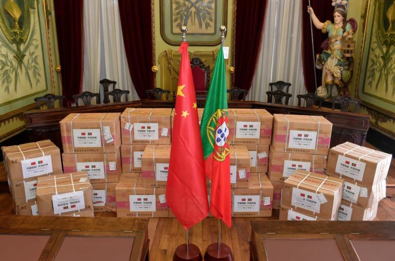 Braga recebeu equipamentos de protecção individual contra a Covid-19